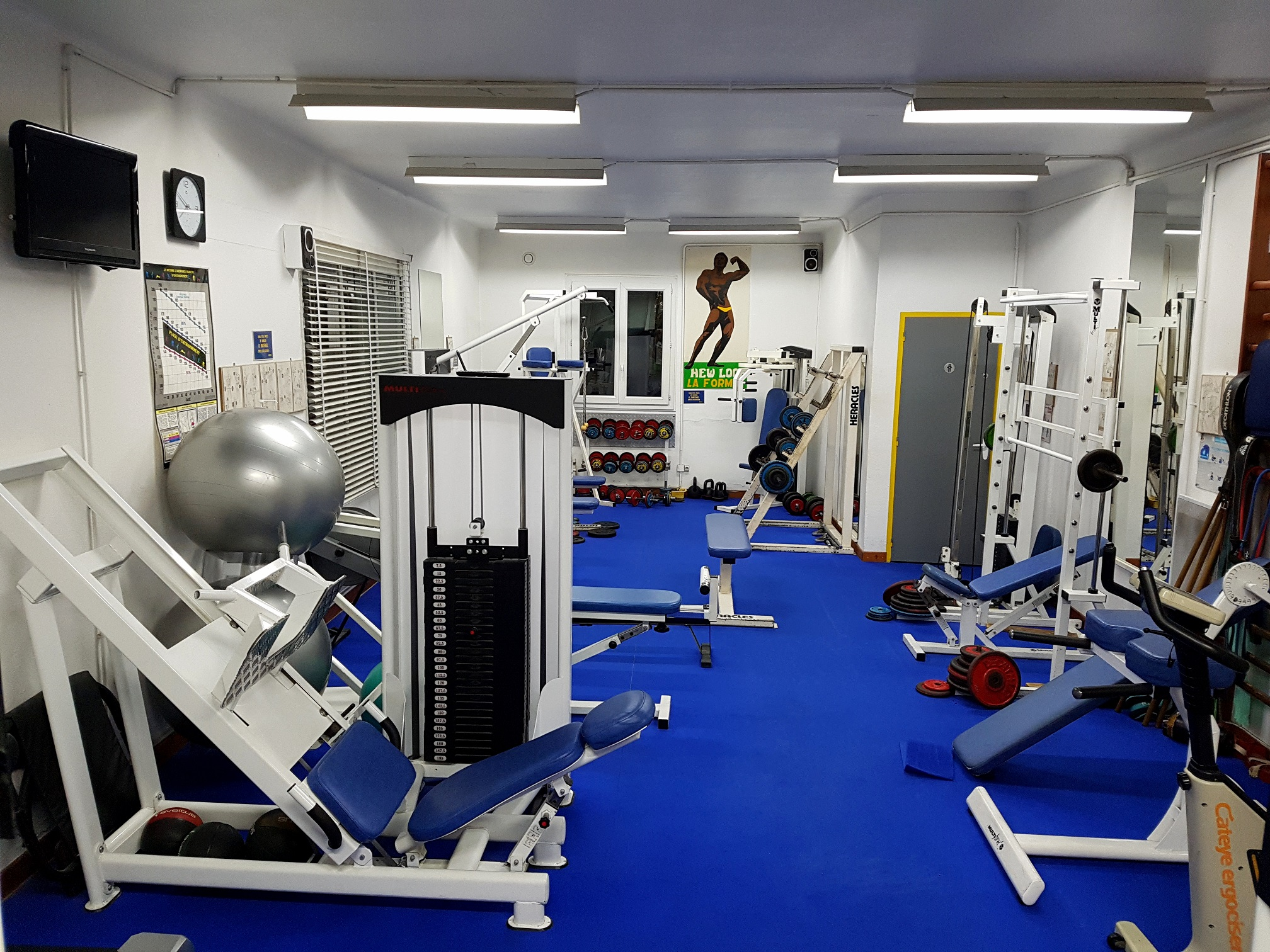 Le club New Look Fitness